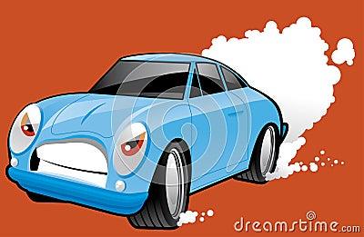 Sports car character