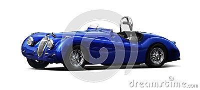 Sports car - Jaguar XK140