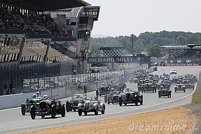 Sports Car,Le Mans Classic 24h Race Editorial Stock Image