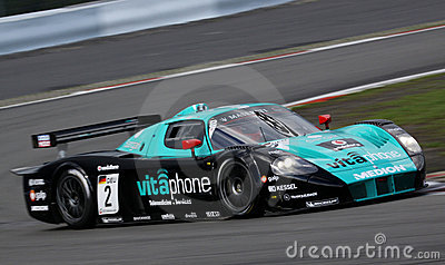 Sports Car,Maserati MC12(FIA GT) Editorial Stock Image