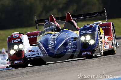 Sports Car,Oreca 01-AIM(LMS) Editorial Stock Image