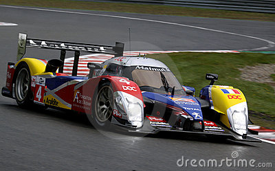 Sports Car,Peugeot 908 HDi-FAP(LMS) Editorial Stock Photo