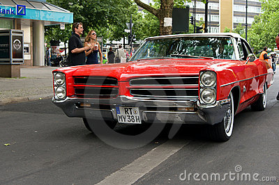 Sports Car Pontiac GTO coupe Editorial Photo