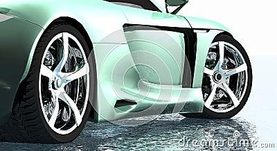 Sports car rims