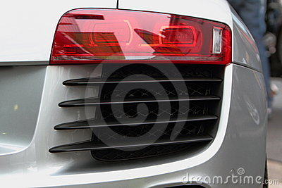 Sports Car tail light.
