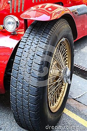 Sports Car Tyre