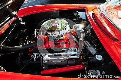 Sports car v8 engine