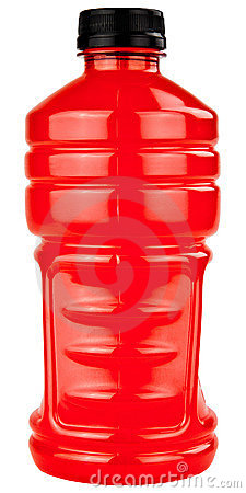Sports Electrolytes Drink In Plastic Bottle