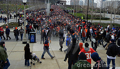 Sports Fans Editorial Stock Photo