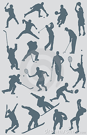 Sports Figures Vector Collection
