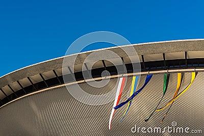 Sports hall Spodek Editorial Photo