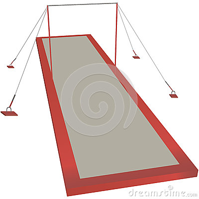 Sports horizontal bar