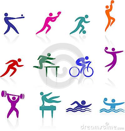Free Sports Icon Collection Royalty Free Stock Image - 36615636
