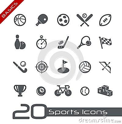 Free Sports Icons // Basics Stock Photos - 25188233
