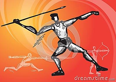 Sports javeline