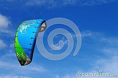 Sports kite in the sky