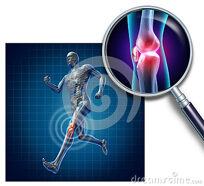 Free Sports Knee Injury Royalty Free Stock Photos - 26131268