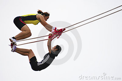 Sports meet,swing games Editorial Image