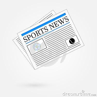 Sports News Newspaper Headline Front Page