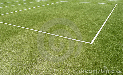Sports pitch line markings