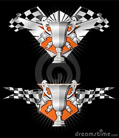 Sports Race Emblems