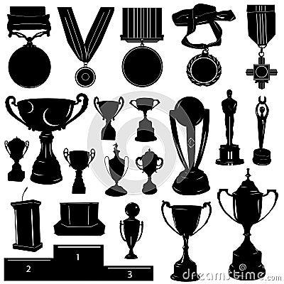 Free Sports Reward Vector Royalty Free Stock Photos - 3930298