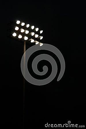 Free Sports Stadium Lights Stock Photography - 13885242
