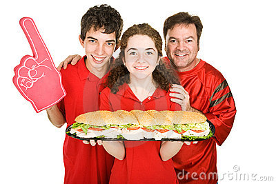 Sports and Sub Sandwich