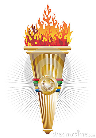 Sports torch of triumph