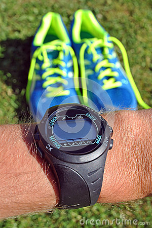 Sports watch for runners