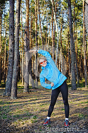Sports young girl