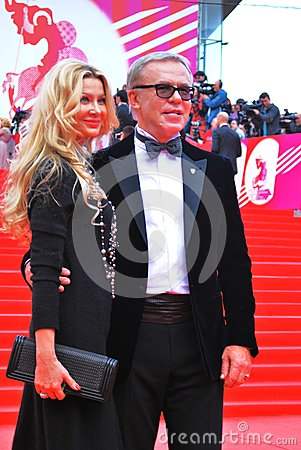 Sportsman Vyacheslav Fetisov at XXXVI Moscow International Film Festival Editorial Stock Photo