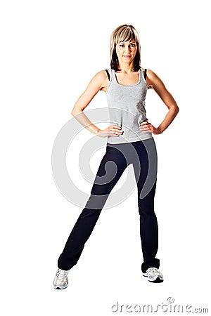 Free Sportswoman Portrait Stock Photos - 7956633