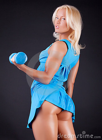 Free Sportswoman With Sexy Ass Royalty Free Stock Photos - 13421048