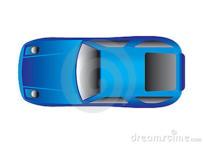 Sportwagen Draufsicht Redaktionelles Foto Bild 4710086