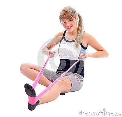 Sporty female