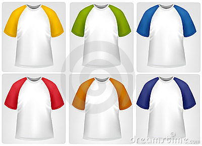 Sporty T-shirts.