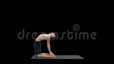 backbend pose stock footage  videos  178 stock videos