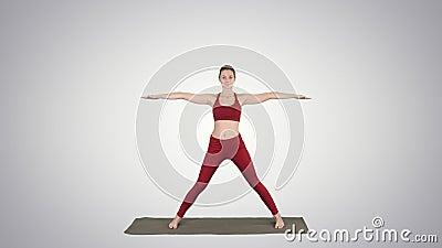 man practice yoga sage twist c pose or marichyasana pose