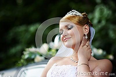 Sposa di lusso con uno sguardo altero in vestito da for Regali per venticinquesimo