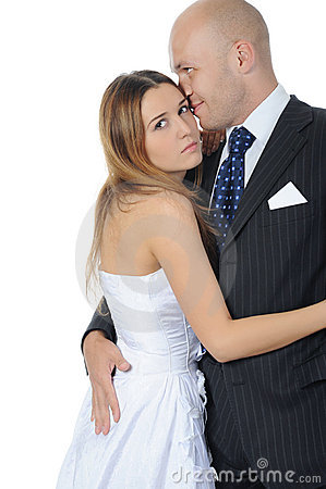 Sposa e sposo di eleganza