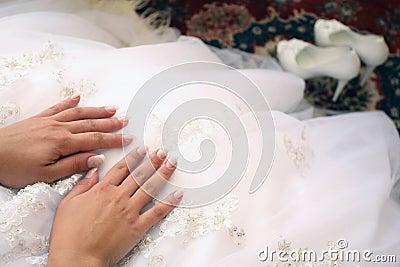 Sposa, particolari