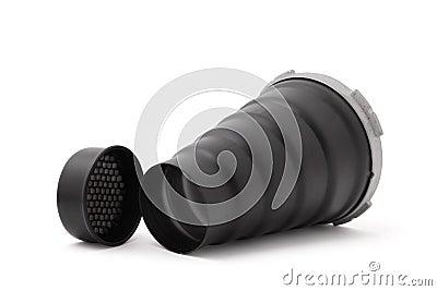 Spot conical nozzle for studio flash.