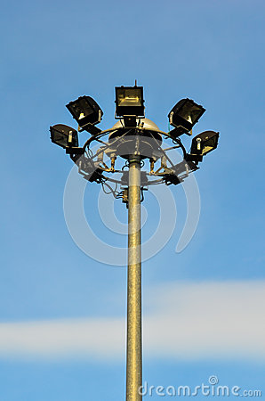 Spot-light tower