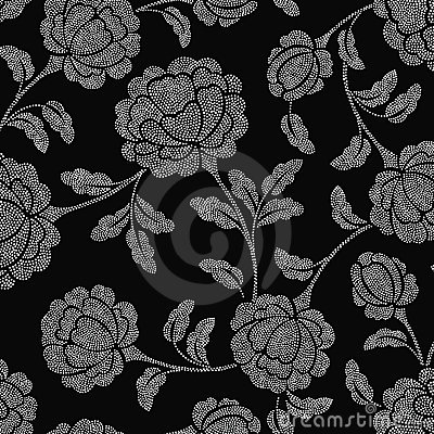 Spot ornate floral