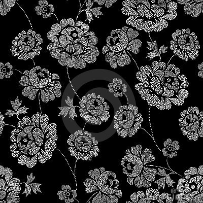 Spot Ornate Floral Stock Images - Image: 12749454