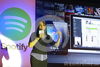 Spotify launch in Taiwan Editorial Photo