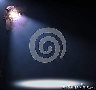 Free Spotlight Royalty Free Stock Photography - 25469967