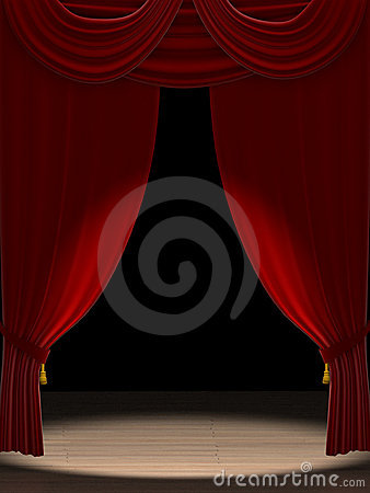 Free Spotlight On Stage Stock Photo - 14425740