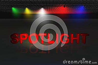 Spotlight scene